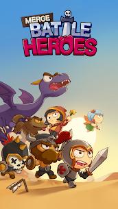 Merge Battle Heroes MOD (Unlimited Diamonds) 1
