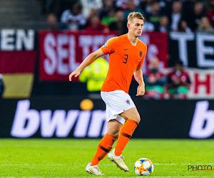 De Ligt bat un nouveau record de précocité avec les Pays-Bas