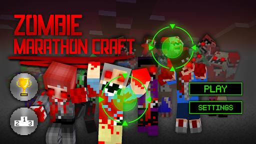Zombie Marathon Craft 3D