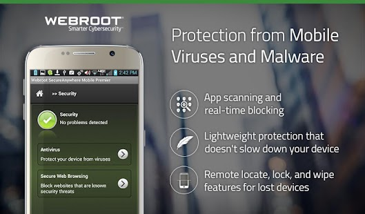 Webroot Secure Mobile- Premier- screenshot thumbnail