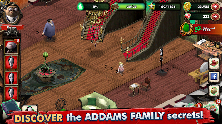 The Addams Family - Mystery Mansion Screenshot Image