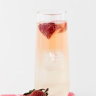 Bubbly Strawberry Mojitos