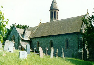 Photo: Ancient church in Wales