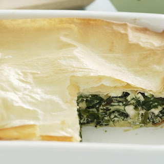 Spinach and Cheese Pie (Spanokopita)