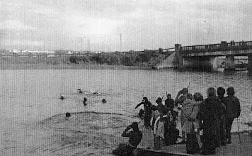 Photo: Sponsored Fin- swim start from Atlunkard Boat Club