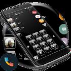 Gloss Black Phone Dialer Theme icon