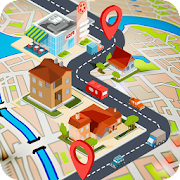 GPS Traffic Route Finder & Route Direction
