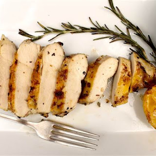 5-Ingredient Lemon-Rosemary Grilled Chicken Breasts.