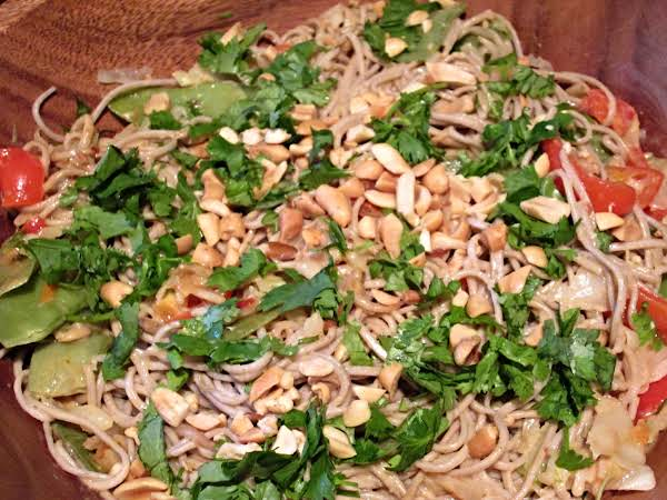 Cold Soba Noodle Salad Recipe