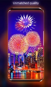 Fireworks Live Wallpaper 3