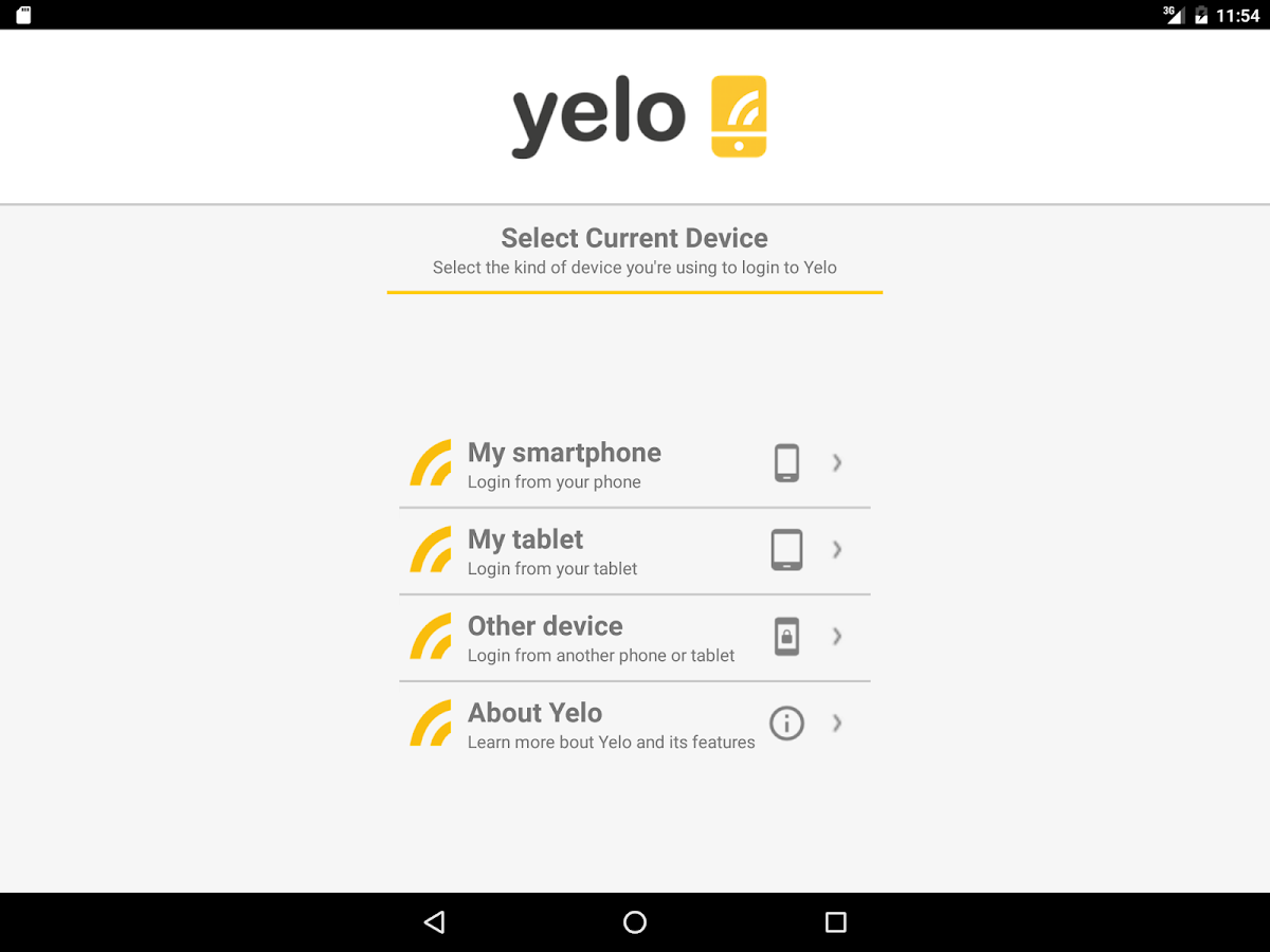 Yelo Phone Wifi Calling Forwarding Amp Voicemail