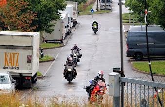 Photo: Ankunft der Tschechischen Gäste