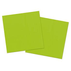 Servetter, grön