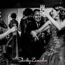 Wedding photographer SHIRLEY ZAMUDIO (shirleyzamudio). Photo of 08.10.2016