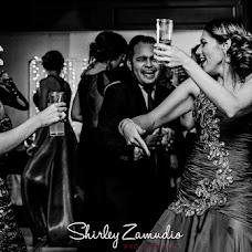Wedding photographer SHIRLEY ZAMUDIO (shirleyzamudio). Photo of 08.10.2016
