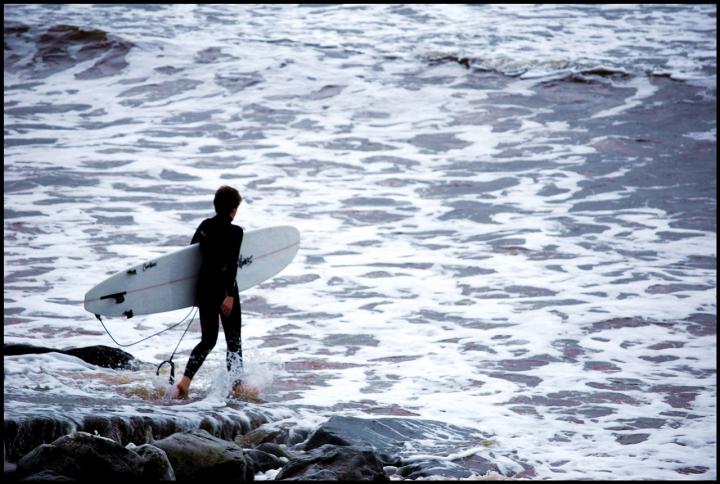 Alla ricerca dell'onda perfetta... di Astrid Tomada