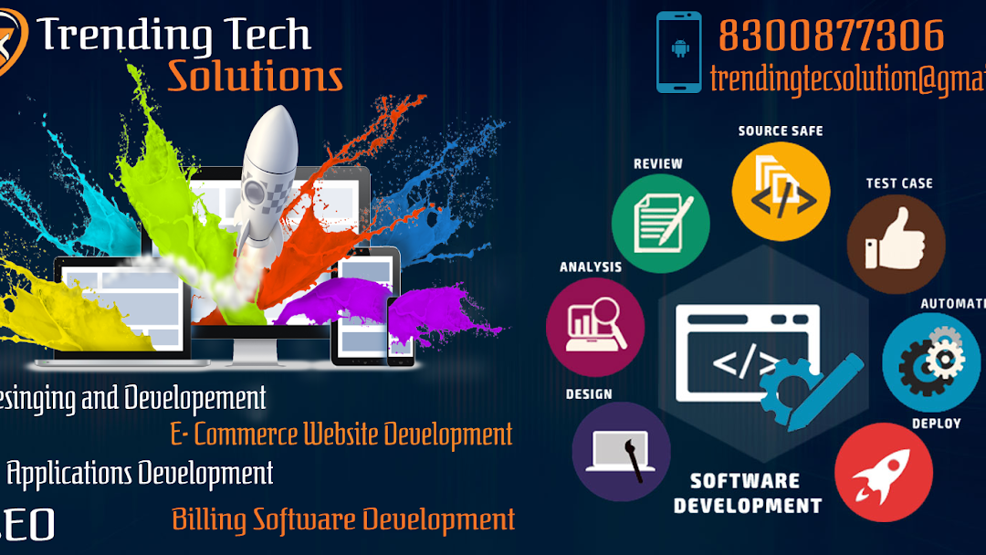 Trending Tech Solutions Best Web Designing Company In Salem Seo Service Web Development Ecommerce Website Development Digital Marketing Agency In Salem Website Designer In Salem