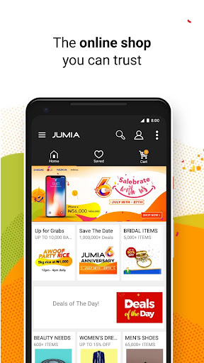 JUMIA Online Shopping 4.7.1 screenshots 1