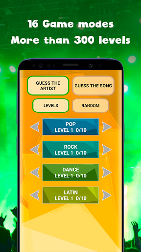 Guess the song - music quiz game Guess the song 0.4 screenshots 1