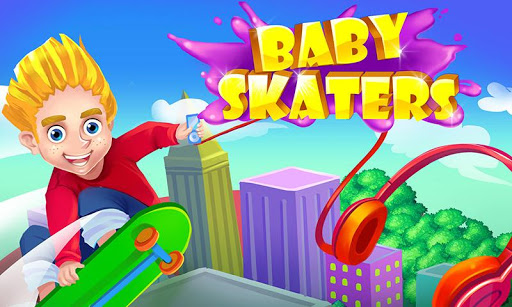 Crazy Skater Kids Speed Race
