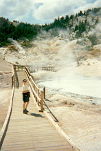 Photo: In Bumpass Hell Lassen NP (1994)