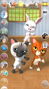 Talking 3 Friends Cats & Bunny- screenshot thumbnail