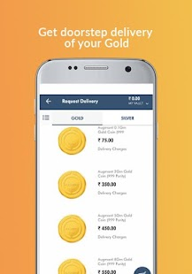 Augmont - Buy Gold and Silver in India -Live Price Screenshot