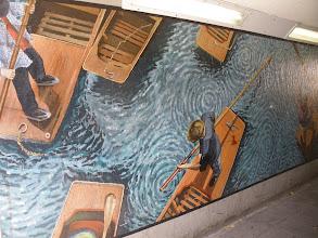 Photo: Elizabeth way bridge Mural (iii)