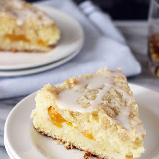 Bourbon Peach Pound Cake