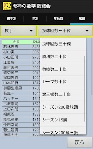 阪神タイガースの数字 阪成会 1936-2016 screenshot 1