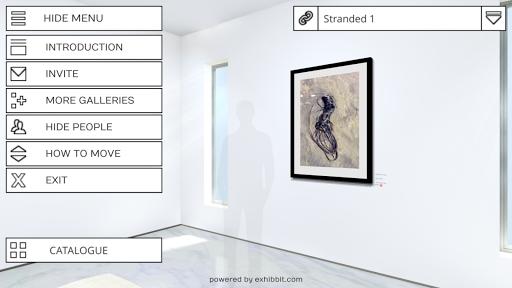 Exhibbit 3d virtual art gallery screenshot 7