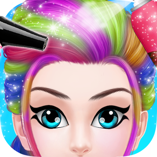 Funky Girl Hairstyle Salon (game)