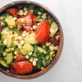 Cucumber Avocado Corn Salad Recipes