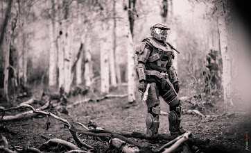 Photo: FYI... not an action figure. #halo