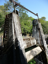 Photo: A curious dam in Shivapuri National Park that looks like a clockwork prop from the movie Wild Wild West
