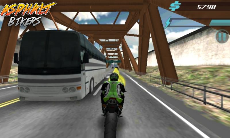 Скриншот Asphalt Bikers FREE