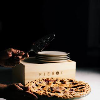 Dry Mango Spiced Apple Cranberry Pie