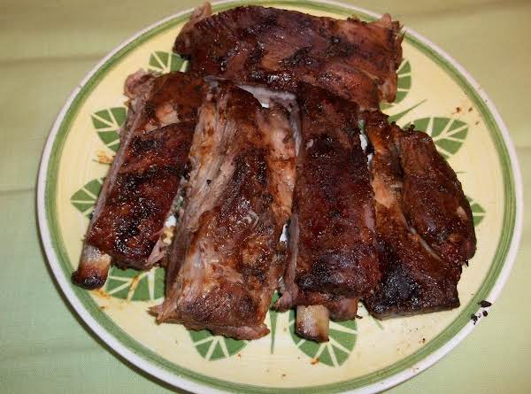 Asian Bbq Baby Back Ribs (sallye)) Recipe