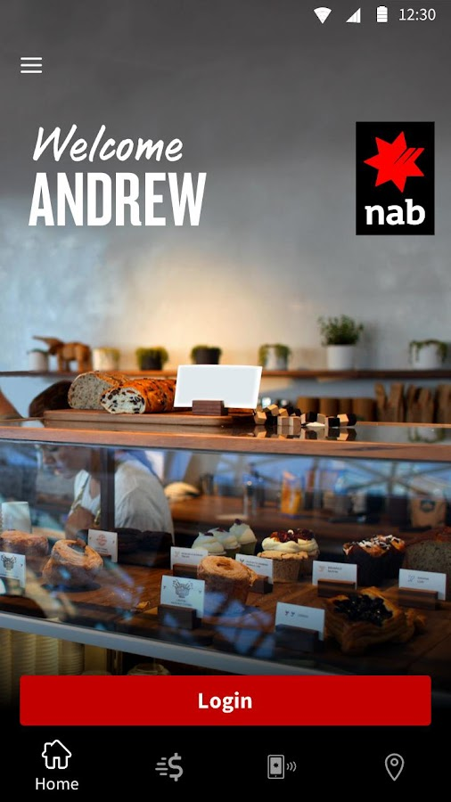 NAB Mobile Banking- screenshot