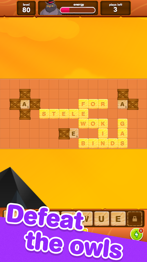 Words of Gold - Scrabble Offline Game Free- screenshot