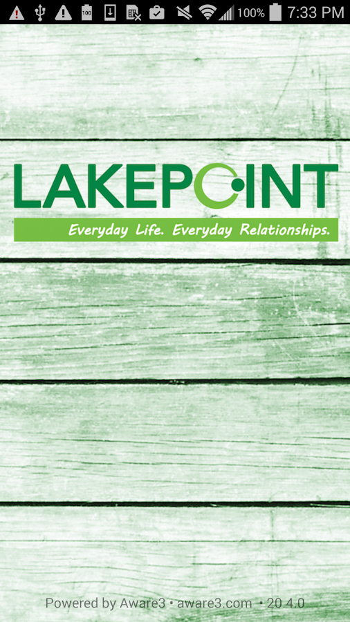 The Lakepoint App- screenshot