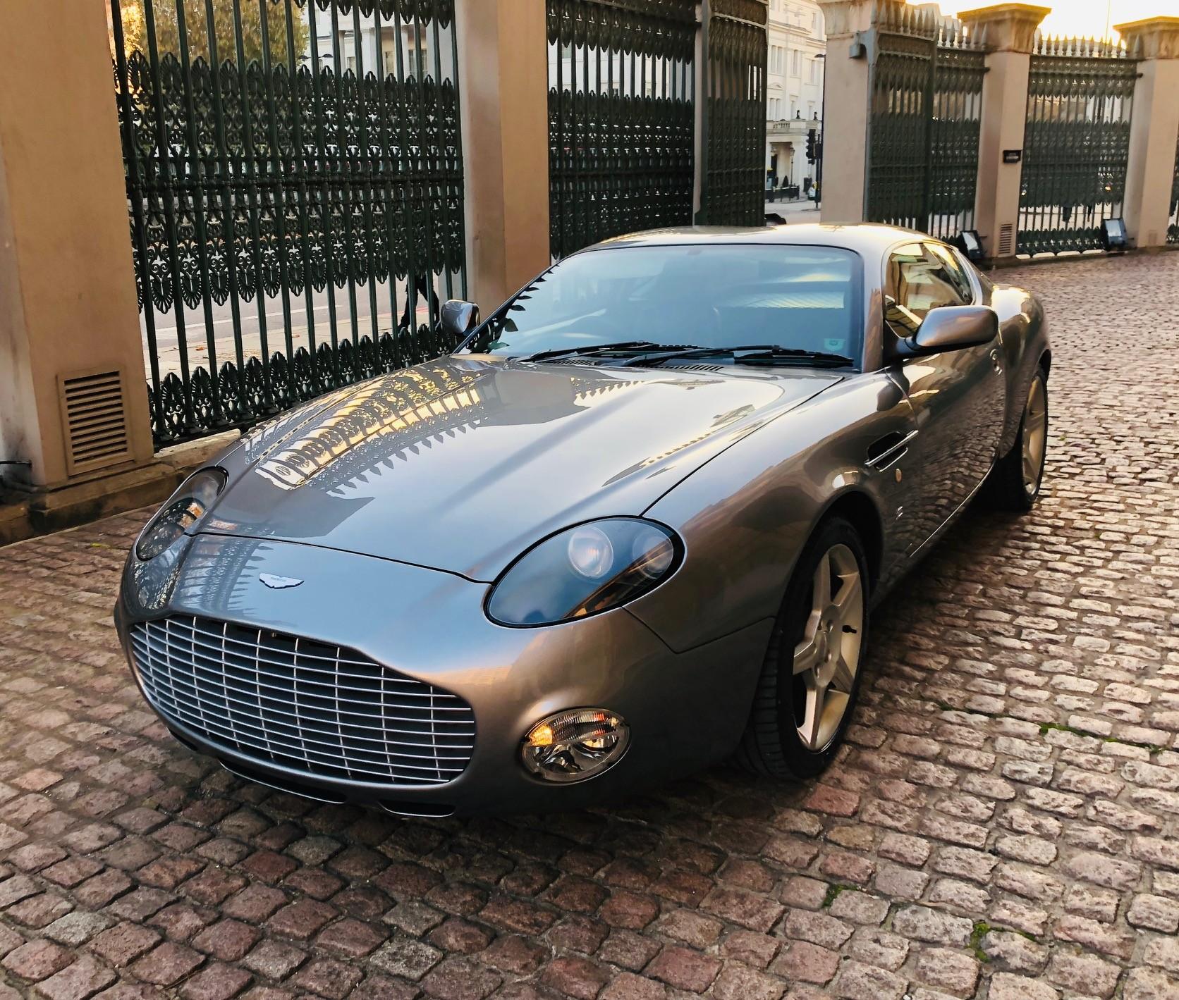 Aston Martin Db7 Zagato Hire London