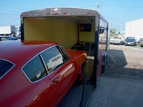 Photo: Loading up at Noel Automotive