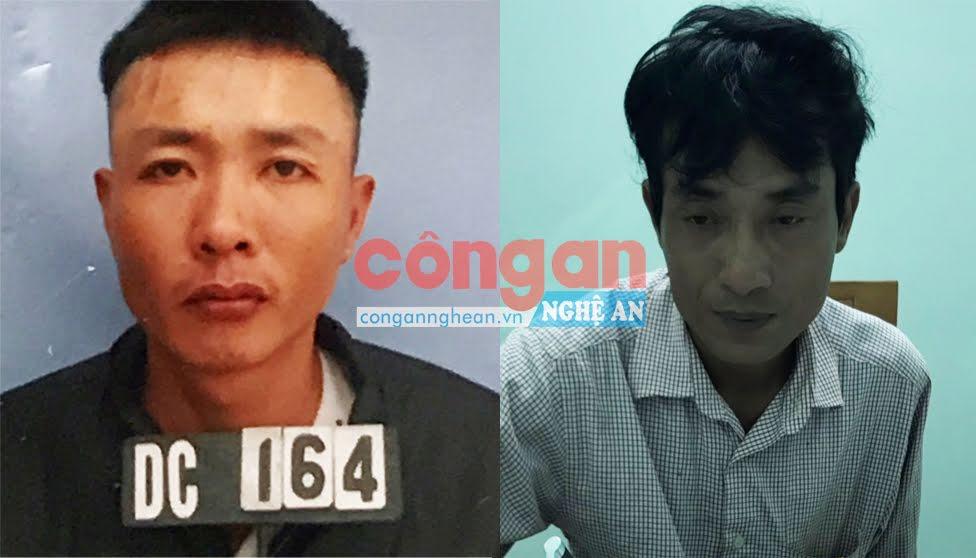 2 đối tượng Nguyễn Dịnh và Võ Quang Đức