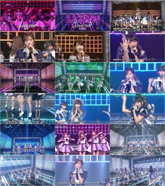 (TV-Music)(1080i) AKB48 – LOVE TRIP (Momm!!) 160905