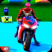 Superheroes Bike Stunts Scraper - Thumb Android APK Download Free By ActionRacing