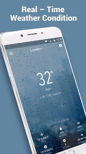 10 Day Transparent Weather Wid  screenshots 2