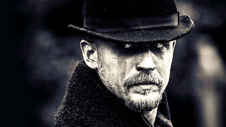 Tom Hardy in the new drama series Taboo, set in 1812 London