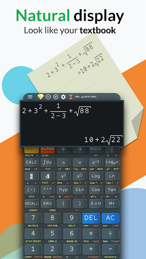 Advanced fx calculator 991 es plus & 991 ms plus 4.0.8-23-06-2019-12-release screenshots 1