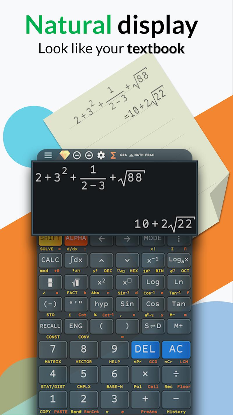 Advanced Calculator FX 991 ES PLUS & 991 MS PLUS v4.0.2 [Premium]